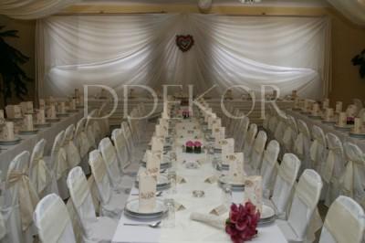 Hochzeitsharmonie in Crème-Pink