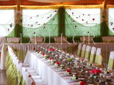 Raumdekoration für Hochzeitsfest