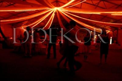 Deckendekoration mit Licht 2
