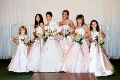 Brautstrauß und Jungferstrauß