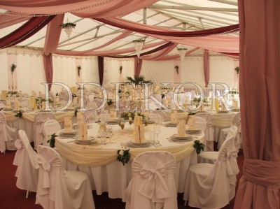 Ddekor Hochzeitsfest Im Zelt Dekoration Hochzeit Stuhlhussen